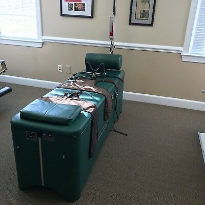 Chiropractic Spinalator Traction Table with EXTRAS!!