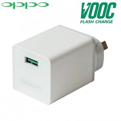 Oppo VOOC Flash Charger Mini White BRAND NEW OPPO R11 R9S PLUS A77 A57 F1 AK775