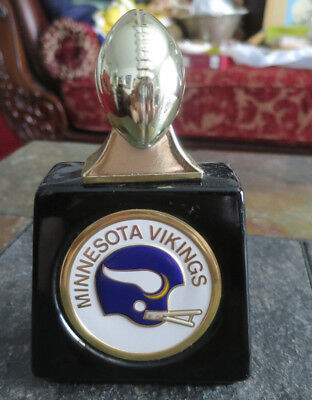 Avon NFL Minnesota Vikings Football Avon Decanter bottle