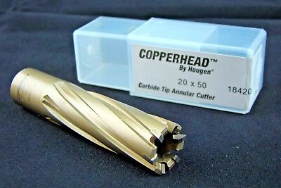 Hougen 20mm Copperhead™ Carbide Tip Annular Cutter 20 x 50 18420