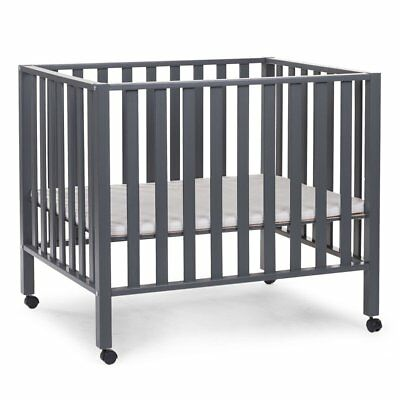 CHILDWOOD Playpen Yard Guard Safety Kid Toddler Baby Beech Anthracite PA94AN
