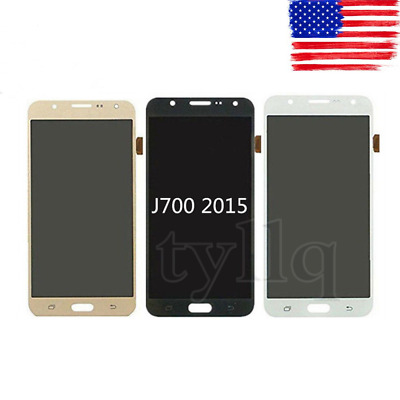 NEW LCD Display Touch Screen Digitizer For Samsung Galaxy 2015 J7 J700  FREE USA