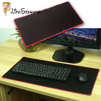 Rubber Gaming Mouse Pad Mat for PC Laptop Computer Large Size 250 * 300mm NEW