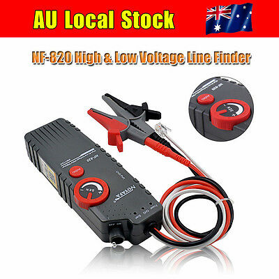 AU Noaya NF-820 High & Low Voltage Wire Tracker Cable Finder Tester Professional