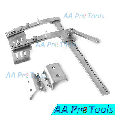 AA Pro: Rib Spreader/Retractors With 4 Blades (Stainless Steel) New