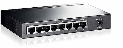 TP-LINK TL-SG1008P 8 Port Gigabit Unmanaged Desktop Switch with 4-Port PoE