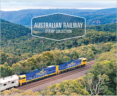 Australia - 2017 - Australian Railway Stamp Collection - Limited Edition 250