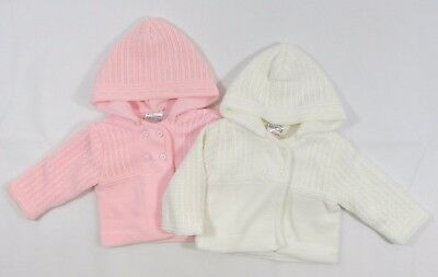 f48fc50ea08c BABY GIRLS TRADITIONAL Romany Double Breasted Knitted Pram Coat ...
