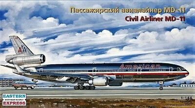 EASTERN EXPRESS 144107 - AirlinerMD-11 GEAMERICAN AIRLINES / Bausatz 1:144