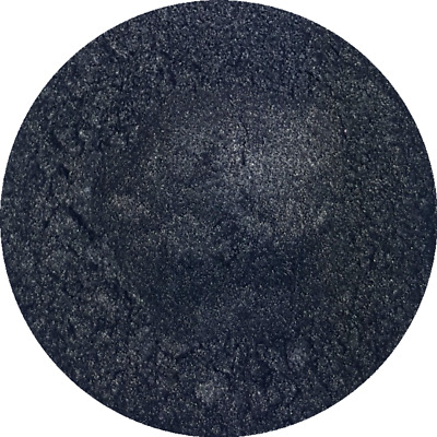 Black Sparkle Cosmetic Mica Powder 3g-50g Pure Soap Bath Bomb Colour Pigment