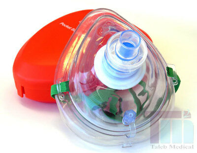 Cpr Resuscitation Mask, First Aid, Paramedic-1 Free Gift, Emt, School, Factory