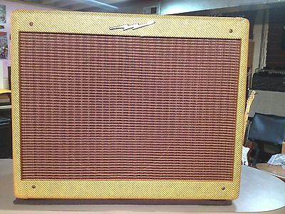 NEW LIGHTNING TWEED Deluxe Amp Point to Point Hand Wired Fender 5E3 on