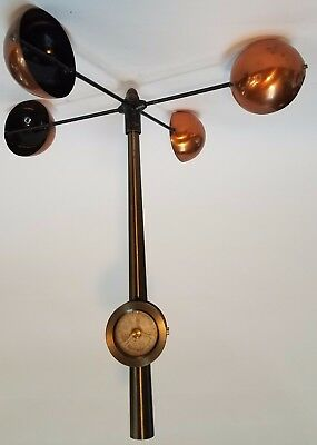American copper and steel anemometer, circa 1880 by James Green