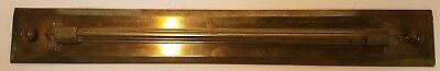 Antique Brass Rolling Parallel Ruler, Circa 1875