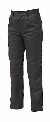 """Apache Industry trousers Work Cargo Combat Knee pad pocket BLACK Sizes 32"""" - 38"""""""