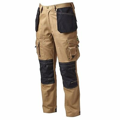 APACHE APKHTST Work Trousers With Holster Pockets (Stone/Black)