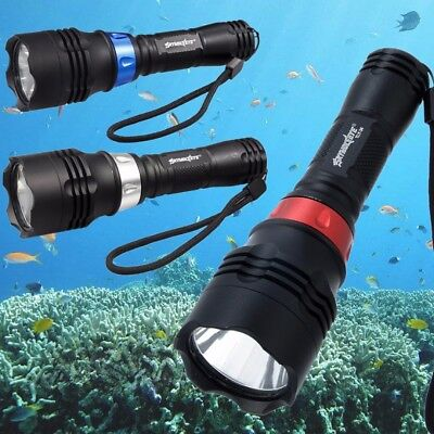 20000Lm XM-L T6 LED Diving Licht Tauchlampe Taschenlampe Flashlight bis 50m