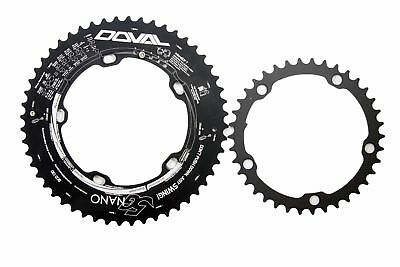 DOVAL Chainring 5G NANO(Ovality 0.54%) 50-38T, 52-38T BCD130 for Simano/SRAM/ETC