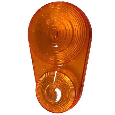 Kubota Left Hand Hazard / Tail Light Lens Part # K2581-62640 for BX Tractors