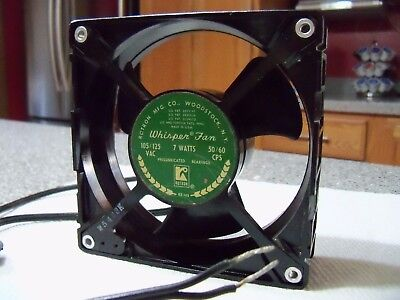 VINTAGE Rotron Whisper Fan RE-148