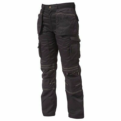 APACHE APKHT Work Trousers With Holster Pockets (Black)