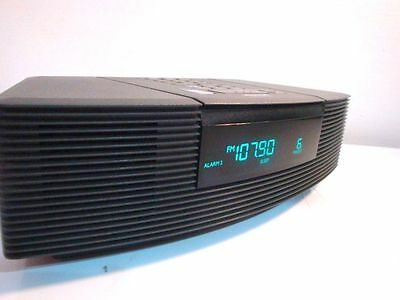 bose wave radio mit cd in awrc3g wecker aux anthrazit. Black Bedroom Furniture Sets. Home Design Ideas