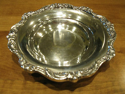 """Vintage EPCA Old English by Poole Candy Bowl #5004 6 1/4"""" Diameter"""