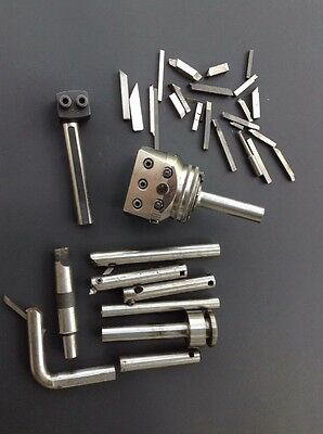 Wohlhaupter Boring / Facing Head UPA 3 With Lots Of Tooling Nice