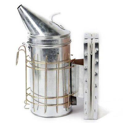 Stainless steel pointed head bee smoker A1X4 S6M8 YS
