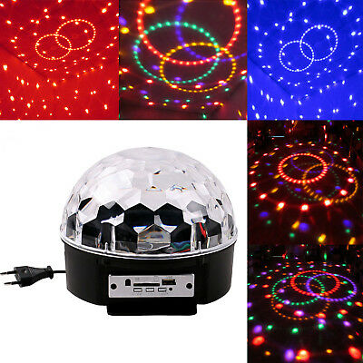 LED Discokugel Lichteffekt Magic RGB DJ Party lichtorgel Bühnenbeleuchtung