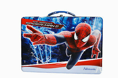 Spiderman! Fragrance Lunchbox Tin! Little Boys Edt 50Ml + Shower Gel 300Ml!!!