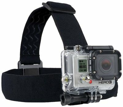 GoPro Head Strap Mount Hands Free Compatible with Hero 1 2 3 3+ 4