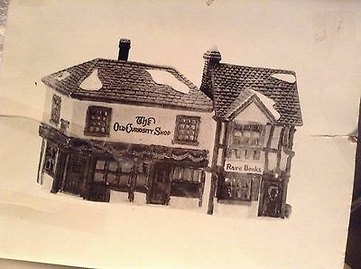 Rare Dept 56 Dickens Village The Old Curiosity Shop #59056 1999 Retired