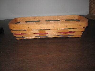 Longaberger 1993 Woven Traditions Cracker Basket