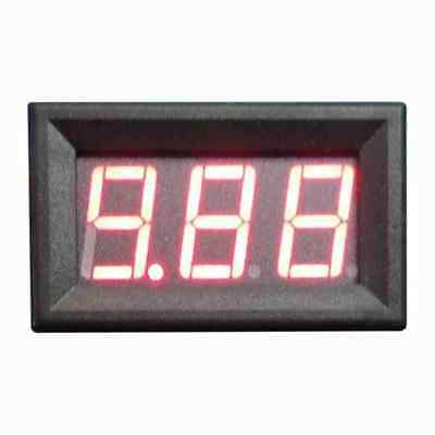 3 1/2 LCD Blue Digital Current Panel Meter - AC 10A AMP with a 10/5A Transformer