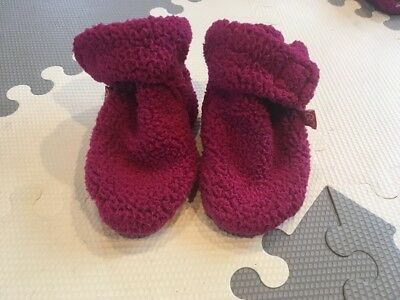 Magnificent Baby Girls Booties 6-12 Months Excellent Condition