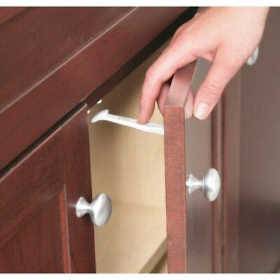 14 Pieces Safety 1st Baby Cabinet Locks Wide Grip Latches Child Kids Door Drawer