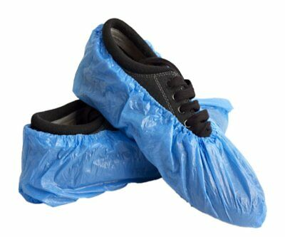 200 pcs 100 pair Disposable Shoe Covers Non-Skid/ Medical/ Fits Most