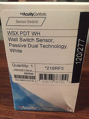 *Brand New** Occupancy Sensor, Acuity Lithonia, WSX PDT WH