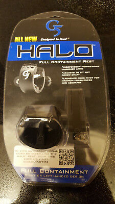 G5 Halo Full Capture Arrow Rest RH or LH Containment Bow Hunting Archery rest