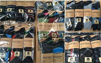 24 Pairs Men's Summer Socks Assorted Colours/Designs Size 6-11 Wholesale Job Lot