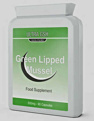 ULTRA Green Lipped Mussel For Dogs & Humans Joint Health 500MG 90 Capsules