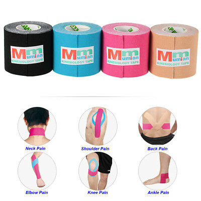 Tape Kinesiology Muscle Athletic Physio Therapeutic 5m Sport Support 2 Rocktape