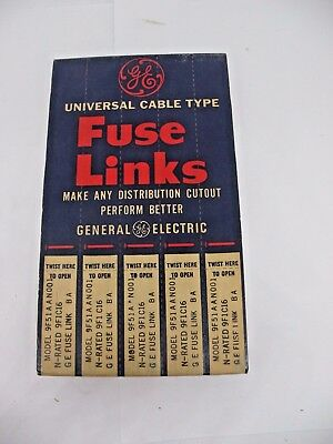 GE Universal Cable Type Fuse Links 9F51AAN001 - 5 Pack