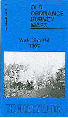 Old Ordnance Survey Map York South 1907 Micklegate Holgate Road New Lane