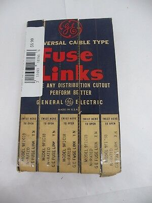 GE Universal Cable Type Fuse Links 9F1C18 - 5 Pack