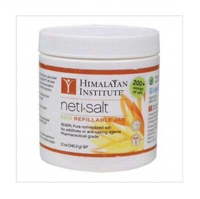 ✅Neti Salt Eco Refillable Jar 340g - HIMALAYAN INSTITUTE