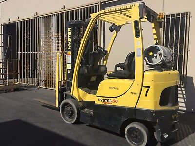 Excellent low hours Hyster 50 Fortis Forklift