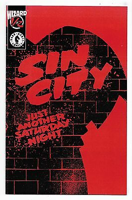 Sin City Just Another Saturday Night #1/2 with COA Fine/Very Fine Frank Miller
