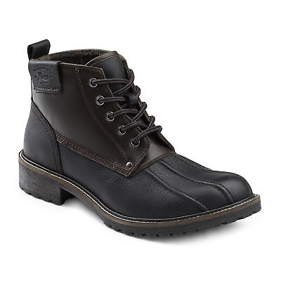G.H. Bass & Co. Men's Brigg Genuine Leather Rugged Boot Black/Seahorse